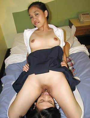 Asian Pussy Licking