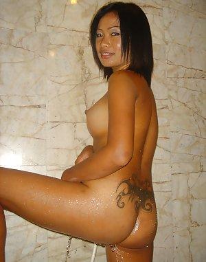 Tattoed Asian Teen
