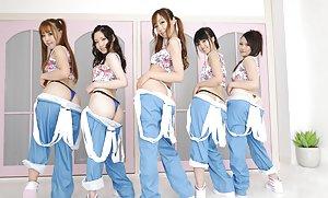 Asian Group Sex